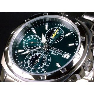 セイコー(SEIKO)のセイコー時計☆深い緑が印象的なメタリックカラー!!オシャレさを演出☆(腕時計(アナログ))