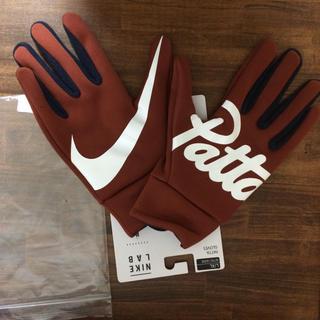 ナイキ(NIKE)の新品未使用!NIKE LAB PATTA コラボ L.XL fcrb(手袋)