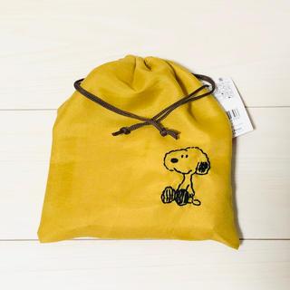 スヌーピー(SNOOPY)の新品 スヌーピー 巾着袋(ランチボックス巾着)