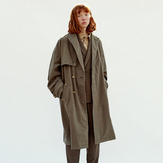 ジエダ(Jieda)のjieda ジエダ 17aw over coat(トレンチコート)