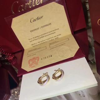 Cartier - Cartier ピアス