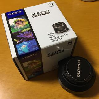 オリンパス(OLYMPUS)のM. ZUIKO DIGITAL 25mm f1.8(レンズ(単焦点))