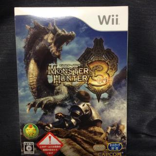 Wii - Wii ソフト モンスターハンタートライ