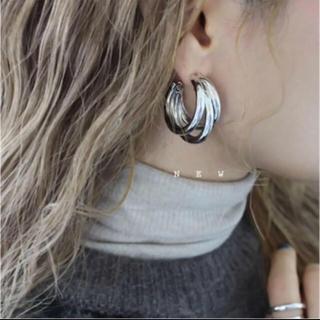 TODAYFUL - j83.triple tube pierce(silver)