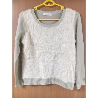 ショコラフィネローブ(chocol raffine robe)のchocol raffineニット(ニット/セーター)