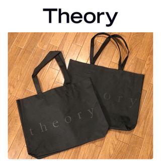セオリー(theory)のラスト❗️セオリーtheory◆ショップ袋 エコバッグ M サイズ2枚セット(ショップ袋)