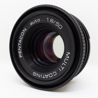 キヤノン(Canon)のPENTACON AUTO 50mm f1.8(レンズ(単焦点))