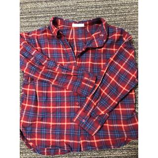 ショコラフィネローブ(chocol raffine robe)のチェックシャツ(シャツ/ブラウス(長袖/七分))
