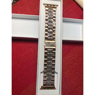 Applewatch4本体 44サイズベルト&カバー(腕時計(デジタル))