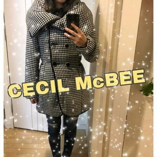 CECIL McBEE - CECIL McBEE千鳥柄ダウン