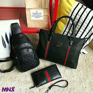 グッチ(Gucci)のgucciハンドバッグとボディーバッグと財布セット(ボディーバッグ)