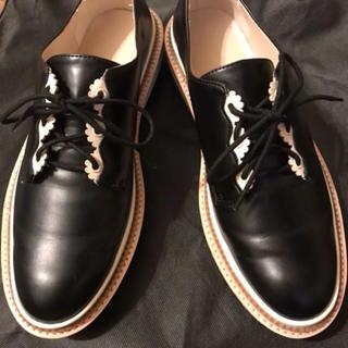 ザラ(ZARA)のZARA オックスフォードシューズ レディース39(ローファー/革靴)