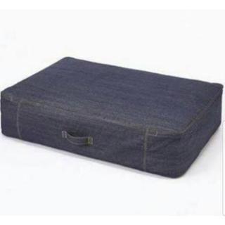 ムジルシリョウヒン(MUJI (無印良品))の無印良品 布団収納袋 デニム (押し入れ収納/ハンガー)