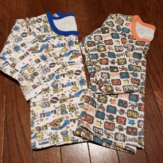 子供服 95㎝厚手インナー2枚セット