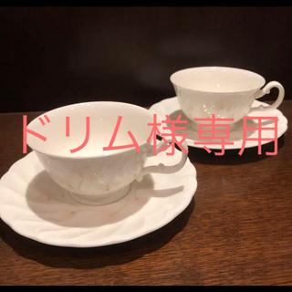 ノリタケ(Noritake)のノリタケ FLO's collection / カップ & ソーサー 2客セット(グラス/カップ)