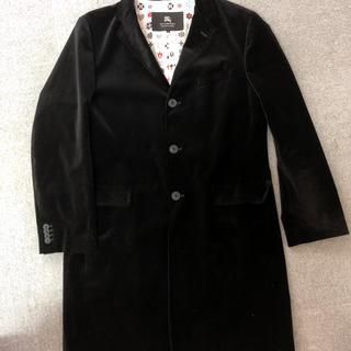 バーバリーブラックレーベル(BURBERRY BLACK LABEL)の美品 バーバリー ブラックレーベル ロングコート サイズLL(ピーコート)