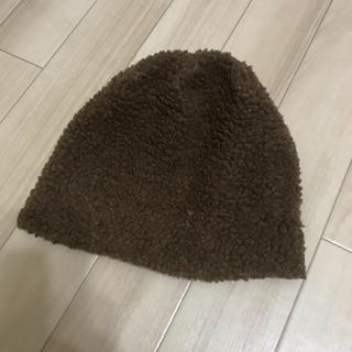 ボア帽子(ニット帽/ビーニー)
