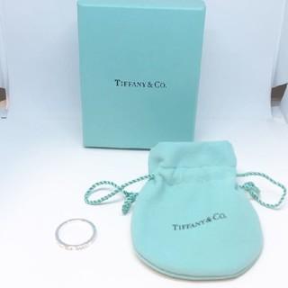 ティファニー(Tiffany & Co.)の中古品【TIFFANY&Co. ティファニーシルバー リング ノーツ サイズ19(リング(指輪))