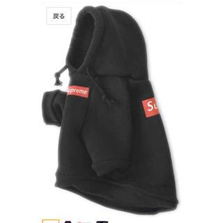 シュプリーム supreme  犬用パーカー 犬服
