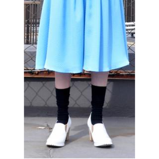 アビィ(avie)の処分価格!avie ふくれジャガードスカート(ひざ丈スカート)