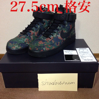 NIKE - Nike AIR FORCE 1 HIGH '07 LV8 迷彩