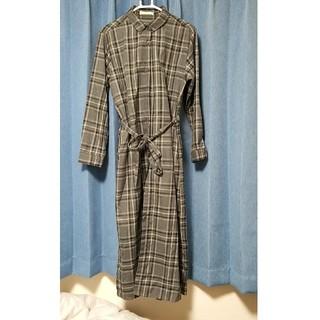 ショコラフィネローブ(chocol raffine robe)のシャツワンピース/ショコラフィネローブ/ワンピース(その他)