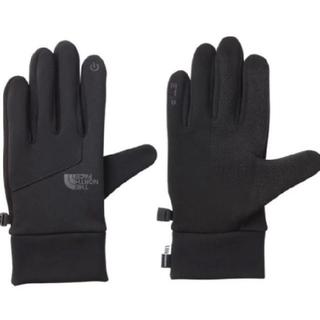ザノースフェイス(THE NORTH FACE)の【新品未使用/ブラック M】ノースフェイス イーチップ グローブ 手袋(手袋)