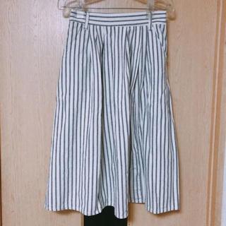 ハートマーケット(Heart Market)のストライプスカート(ひざ丈スカート)
