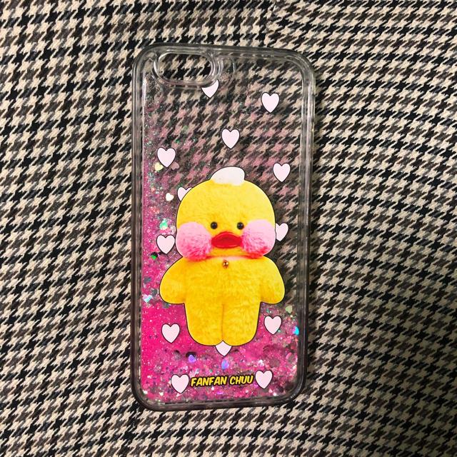 iphone7 ミラー 手帳 | Chuu コラボ 빵빵덕 iPhone ケース (6s対応) 2月4日以降発送の通販 by みりん's shop|ラクマ
