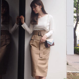 MERCURYDUO - マーキュリーデュオ コルセットベルト付きタイトスカート