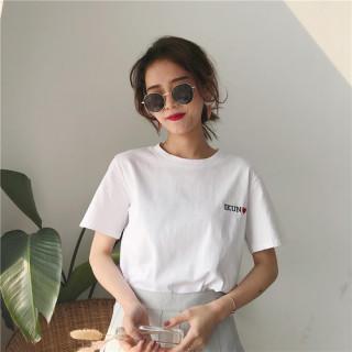 人気 ロゴTシャツ IKUN シンプル(カットソー(半袖/袖なし))