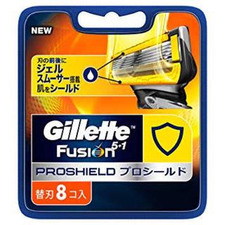 ジレ(gilet)のGillette fusion 5+1 PROGLIDE ジレット 替刃8個入(メンズシェーバー)