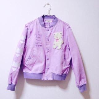 キャンディーストリッパー(Candy Stripper)のteddy jacket(Gジャン/デニムジャケット)