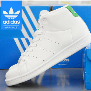adidas - adidas ⭐国内完売商品⭐限定1足✨スタンスミスのハイカット❤レア商品❤