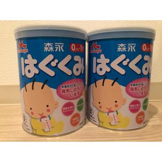 モリナガニュウギョウ(森永乳業)の粉ミルク 大缶 はぐくみ 2缶(その他)