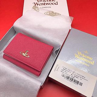 Vivienne Westwood - ✨新品 未使用✨ヴィヴィアンウエストウッド折り財布ピンクカラー