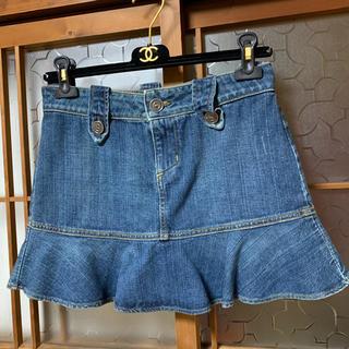 ジューシークチュール(Juicy Couture)の新品未使用 JUICY COUTURE デニムミニスカート(ミニスカート)