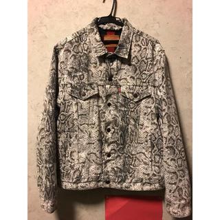 Supreme - supreme Levi's Snakeskin Trucker Jacket