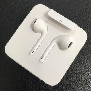 アップル(Apple)のApple iPhone 純正 イヤフォン 7(ストラップ/イヤホンジャック)