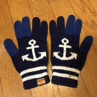 シップス(SHIPS)の希少 SHIPS イカリ 手袋(手袋)