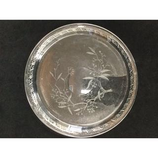 バカラ(Baccarat)のオールドバカラ ミモザ(Mimosa) クリスタルプレート 319(食器)