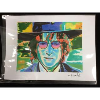 アンディウォーホル(Andy Warhol)の【模写】アンディウォーホル ジョン・レノン 195417(その他)