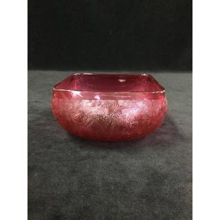 バカラ(Baccarat)のオールドバカラ アールヌーボージャポニズム紋 花器・ボウル(小鉢) 378(花瓶)
