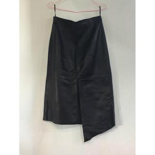 レディース ロングスカート ブラック(ロングスカート)