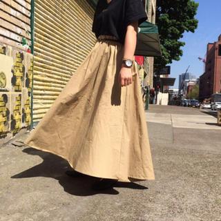 Kastane - 新品 タグ付き Kastane チノ ボリューム スカート