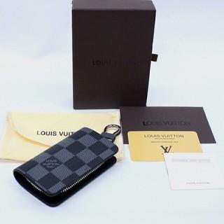 ルイヴィトン(LOUIS VUITTON)のルイ・ヴィトン  Louis Vuitton キーケース  ダミエ グラフィット(キーケース)