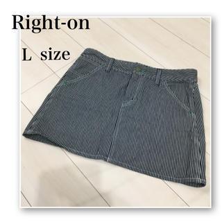 ライトオン(Right-on)のRight-on♡ストライプ♡ミニスカート♡gu.WEGO.AZUL.Lee(ミニスカート)