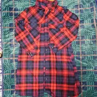 ロング丈のシャツ(その他)