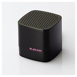 エレコム Bluetooth対応ワイヤレススピーカー(ブラック)カメラシャッター(スピーカー)