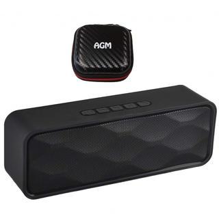 AGM ブルートゥース スピーカー Bluetooth ステレオ ワイヤレス w(スピーカー)